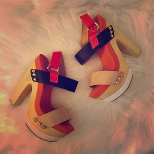 Flogg - Rexfort 🔥Sexy🔥Platform Heel Sandals